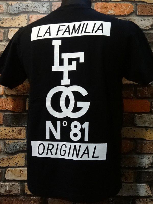 la familia original ラ ファミリアオリジナル  Tシャツ (CARNAL) カラー:ブラック