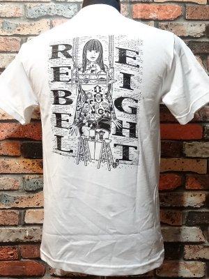 rebel8 レベルエイト Tシャツ  hit the walls  カラー:ホワイト
