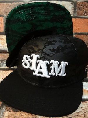 SLAM  キャップ (1608-15-FNB)  カラー:ブラック
