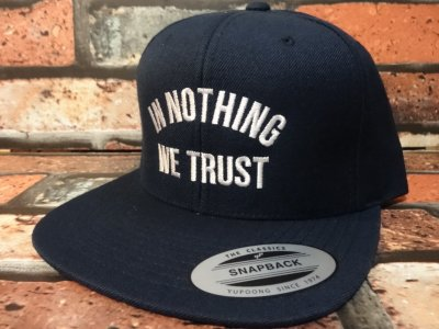 CLSC CO  スナップバック キャップ  (IN NOTHING WE TRUST  SNAP BACK  CAP)  カラー:ブラック