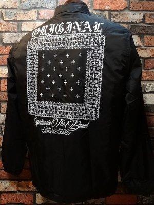 OG Classix オージークラッシックス ボア付きコーチジャケット (BANDANA BOA COACH JACKET) カラー:ブラック