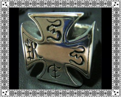 KUSTOMSTYLE-el-TRUENO IRONCROSS RING