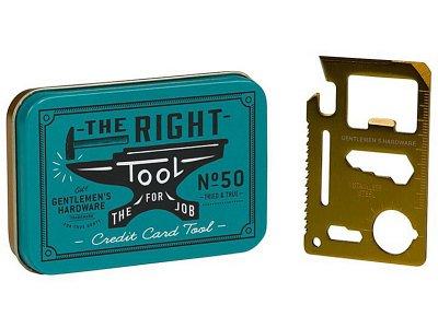 Gentlemen's Hardware ジェントルメンズ ハードウェア CREDIT CARD TOOL クレジットカードツール(10種類)