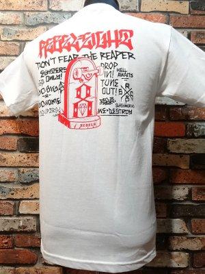 REBEL8 レベルエイト Tシャツ  young till death t-shirts  カラー:ホワイト