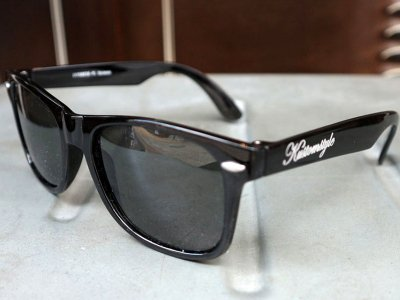 kustomstyle カスタムスタイル サングラス (KSSG-011-WF) kustomstyle-city locs sunglass  BLACK/SMOKE