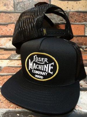 LOSER MACHINE ルーザーマシーン メッシュキャップ (RICHMOND) カラー:ブラック