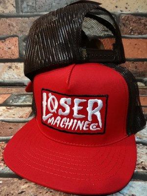LOSER MACHINE ルーザーマシーン メッシュキャップ (LOCKHAVEN) カラー:レッド
