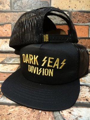 DARK SEAS ダークシーズ  メッシュキャップ (STOWAGE) カラー:ブラック
