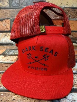 DARK SEAS ダークシーズ  メッシュキャップ (F.O.A.D.) カラー:レッド