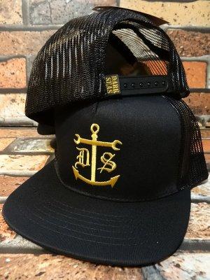 DARK SEAS ダークシーズ  メッシュキャップ (FUGHT DECK) カラー:ブラック