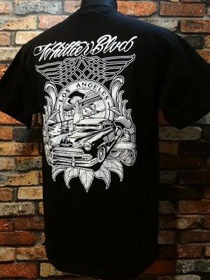 CRUISE IT MAGAZINE Tシャツ (SIXTH STREET BRIDGE)   カラー:ブラック