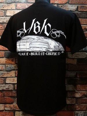 CRUISE IT MAGAZINE Tシャツ (LIVE IT BUILD IT CRUISE IT)   カラー:ブラック