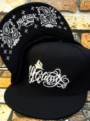 OG Classix  オージークラッシックス  スナップバックキャップ (HIGH SCRIPT BANDANA SNAP BACK CAP) カラー:ブラック