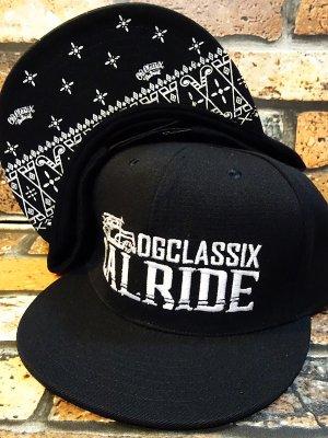 OG Classix  オージークラッシックス  スナップバックキャップ (CALRIDE BANDANA SNAP BACK CAP) カラー:ブラック
