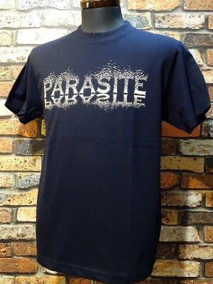 parasite パラサイト 5.6ozTシャツ CROWS  カラー:ネイビー