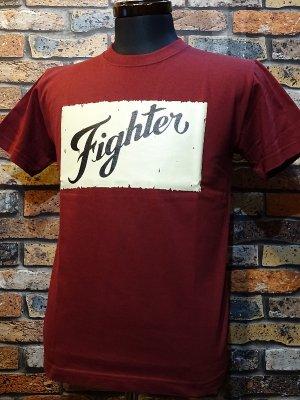 parasite パラサイト Tシャツ FIGHTER  カラー:バーガンディー