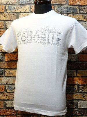parasite パラサイト 5.6ozTシャツ CROWS  カラー:ホワイト