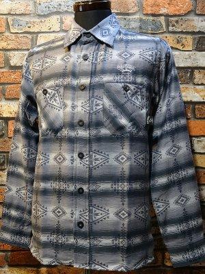 OG Classix オージークラッシックス 長袖ネイティヴシャツ  native life shirt  カラー:グレー