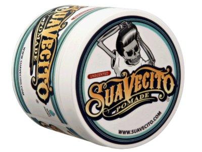 SUAVECITO スアベシート -UNSCENTED POMADE-  original hold pomade 水性ポマード レギュラーホールド 無香料 4OZ(約110G)