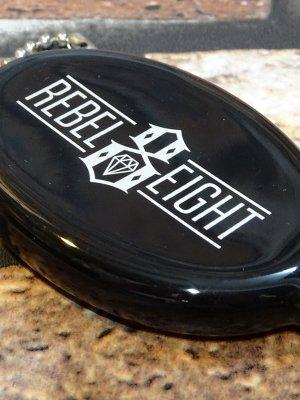 REBEL8 レベルエイト  コインケース  Rubber Coin Case  DEGENERATE   カラー:ブラック
