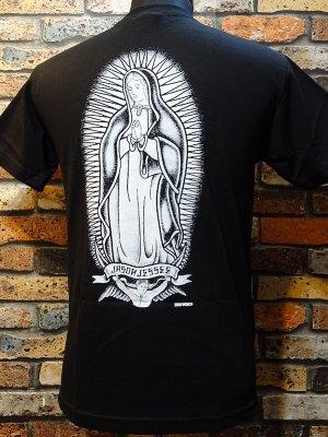 SANTA CRUZ サンタクルーズ  Tシャツ  Jessee x Dressen Guadalupe  カラー:ブラック