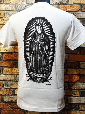 SANTA CRUZ サンタクルーズ  Tシャツ  Jessee x Dressen Guadalupe  カラー:ホワイト