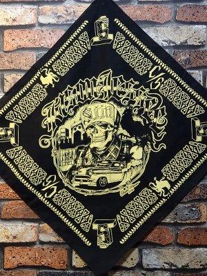 suicidal tendenciesスイサイダルテンデンシーズ バンダナ (JASON JESSEE) limited guest collection bandana  カラー:ブラック