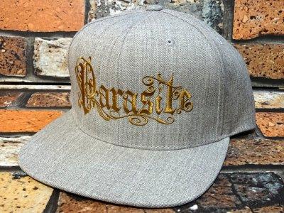 parasite パラサイト スナップバックキャップ (PARASITE) カラー:ヘザーグレー