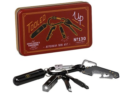 Gentlemen's Hardware ジェントルメンズ ハードウェア (Keychain Tool Kit) 便利な工具ツールがカラビナで1つになったキーチェーン