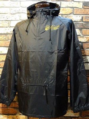 REBEL8 レベルエイト  プルオーバー ナイロンジャケット floret embroidered anorak jacket  カラー:ブラック