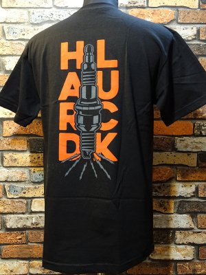 hard luck ハードラック  Tシャツ (SPARKED) カラー:ブラック