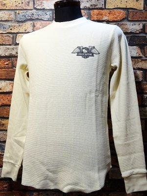 LOSER MACHINE ルーザーマシーン サーマルロングスリーブTシャツ(WALTER)  カラー:オフホワイト