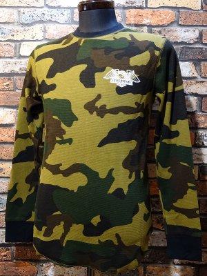 LOSER MACHINE ルーザーマシーン サーマルロングスリーブTシャツ(WALTER)  カラー:カモ