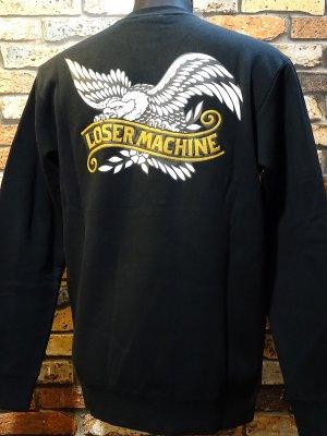 LOSER MACHINE ルーザーマシーン  クルーネック トレーナー (Hawthorne) カラー:ブラック