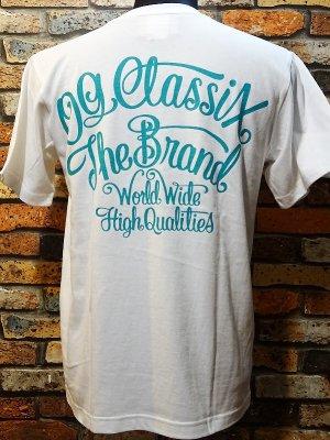 OG Classix オージークラッシックス  Tシャツ (corporate color tee) カラー:ホワイト