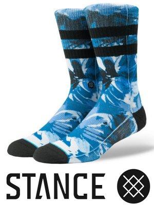STANCE SOCKS スタンスソックス  (YADDA )  カラー:ブルー
