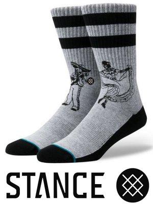 STANCE SOCKS スタンスソックス  (FLAMENCOS)  カラー:グレー