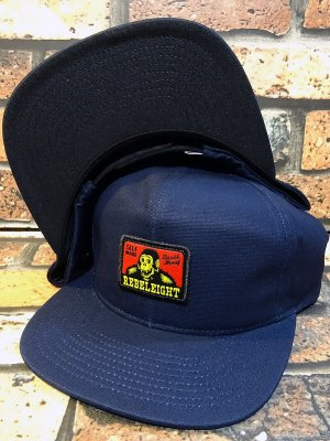 REBEL8 レベルエイト キャップ  Drudge Snapback cap  カラー:ネイビー