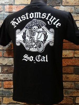 kustomstyle カスタムスタイル Tシャツ (KST0906BK) low rider bicycle カラー:ブラック