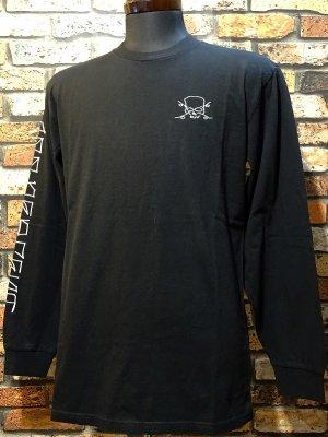 BRIXTON x JASON JESSEE リミテッド コラボ ロングスリーブTシャツ(CIEN JASON JESSEE L/S PREMIUM TEE) カラー:ブラック