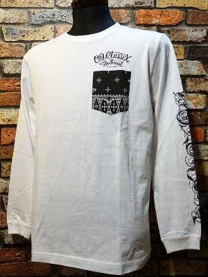 OG Classix オージークラッシックス ロングスリーブTシャツ (lose line long sleeve) カラー:ホワイト