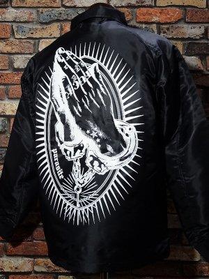 parasite パラサイト ボア付きコーチジャケット (prayer) カラー:ブラック