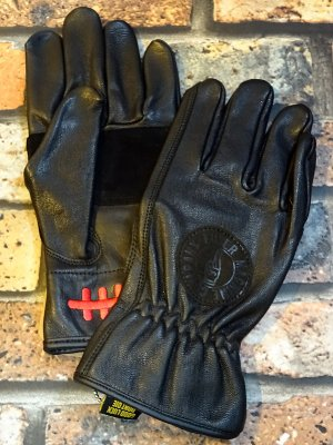 LOSER MACHINE ルーザーマシーン  レザーグローブ (Death Grip Leather Gloves) カラー:ブラック