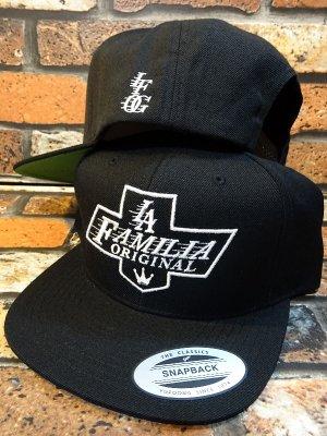 la familia original ラ ファミリアオリジナル  スナップバック キャップ (REYES)  カラー:ブラック