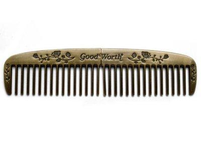 goodworth グッドワース コーム  GENTLEMENS COMB  BRASS