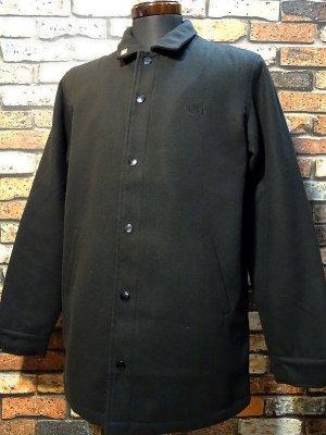 OBEY オベイ WALLY JACKET ロング丈 ジャケット  カラー:ブラック