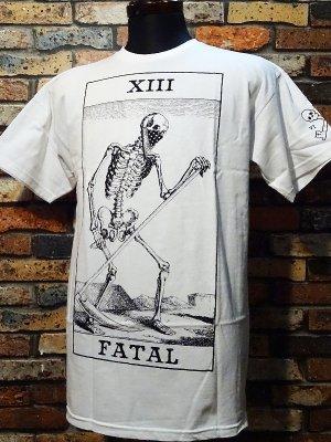 FATAL CLOTHING フェータル Tシャツ (DEMISE) カラー:ホワイト