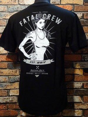 FATAL CLOTHING フェータル Tシャツ (OLD LDAY) カラー:ブラック