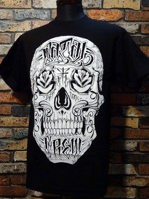 FATAL CLOTHING フェータル Tシャツ (ROSE EYES) カラー:ブラック