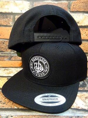 HARD LUCK ハードラック スナップバックキャップ  (DEDO) snapback cap カラー:ブラック